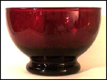Royal Ruby Glass by Anchor Hocking - information and pictures