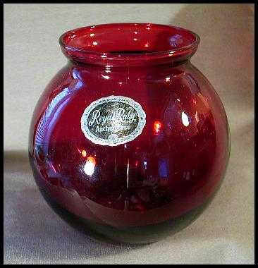 Royal Ruby Glass By Anchor Hocking Information And Pictures